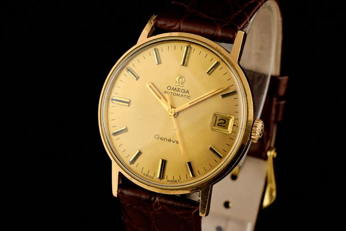 "Omega - Seamaster 18K Gold Automatic - ""NO RESERVE PRICE"" - Heren - 1970-1979"