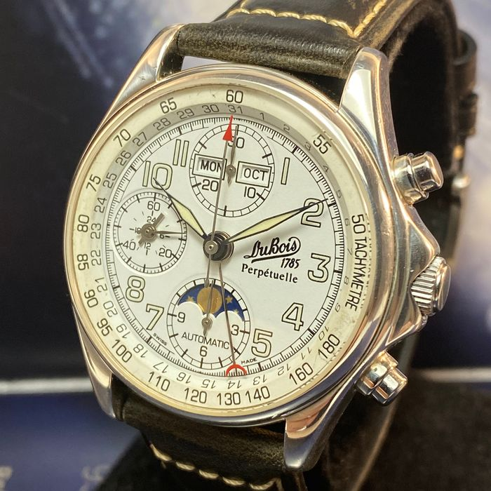 Philippe Du Bois & Fils - Perpetuelle Moon Phase Chronograph Limited Edition - 314/1999 - Men - 1990-1999