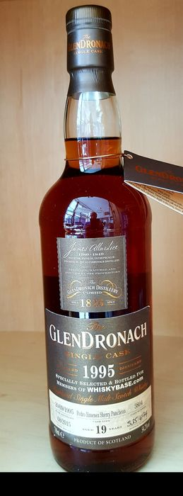 Glendronach 1995 19 years old - for Whiskybase - Original bottling - 700ml