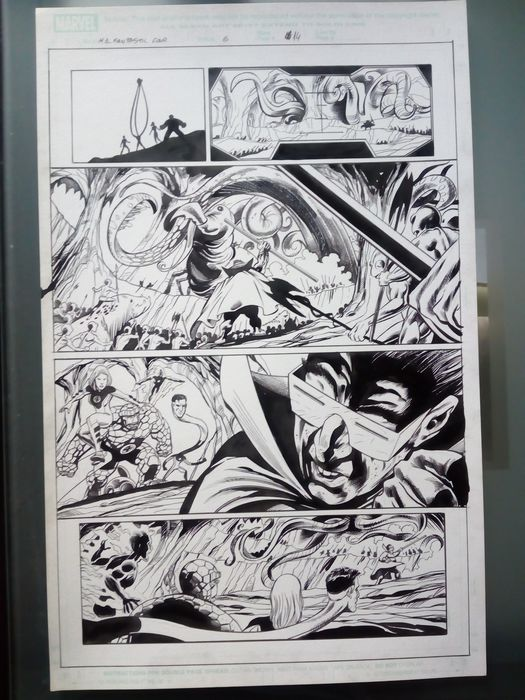 Fantastic Four 6 - Original Page Art - . - (2005)