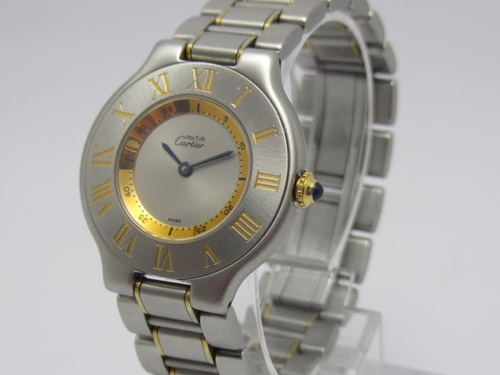 """Cartier - Must 21 - """"NO RESERVE PRICE"""" - 1330 - Dames - 2000-2010"""
