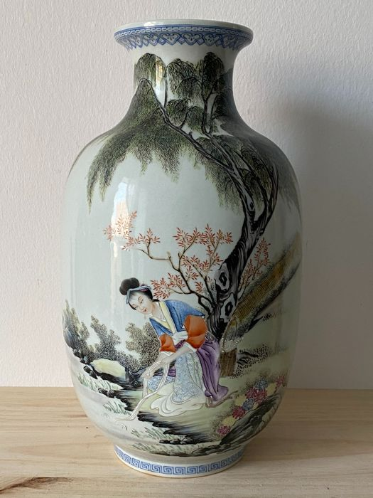 Vase - Porcelain - China - People's Republic of China (1949 - present)