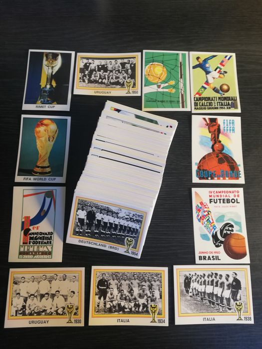 Panini - World Cup Story - Complete losse stickerset - 1990