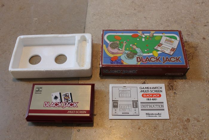 game & watch - game & watch blackjack complete (1) - Dans la boîte d'origine
