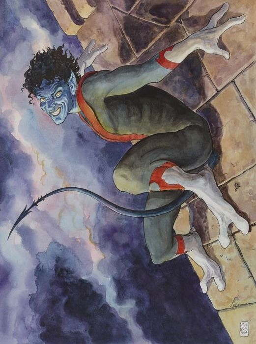 Amazing X-Men Vol.2 #1 - The Quest For Nightcrawler - original illustration by Milo Manara - Losbladig - Eerste druk - (2014)