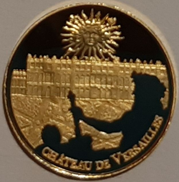 France - 5 Euro 2011 'Chateau De Versailles - Patrenotne Mondial De L' UNESCO' - with a Certificate of Authenticity - Gold