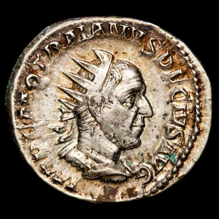 Roman Empire. Trajan Decius (AD 249-251). Antoninianus,  GENIVS EXERC ILLVRICIANI, Genius of the armies of Illyricum