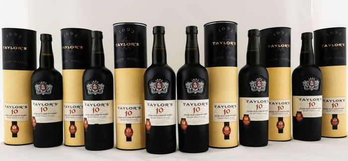 Taylor's 10 years old Tawny - 6 Flessen (0.75 liter)