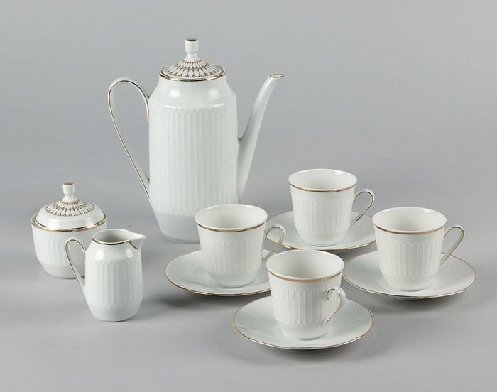 Hutschenreuther - Coffee set - Contemporary - Porcelain