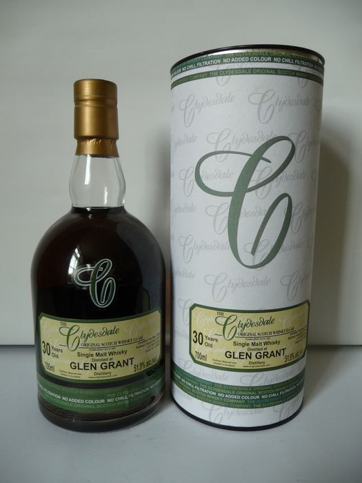 Glen Grant 1982 30 years old Sherry Cask  - The Clydesdale - b. 2012 - 70cl