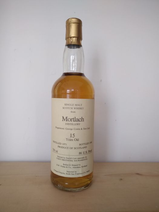 Mortlach 1971 15 years old - R W Duthie - b. Anni '80 - 75cl