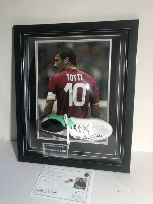 AS Roma - Championnat d'Italie de Football - Francesco Totti - Chaussures de football