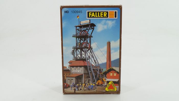 Faller H0 - 130945 - Scenery - Coal mine / Collection installation Marienschacht