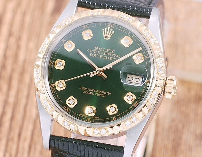 Rolex - Oyster Perpetual DateJust - 16013 - Homme - 1980-1989
