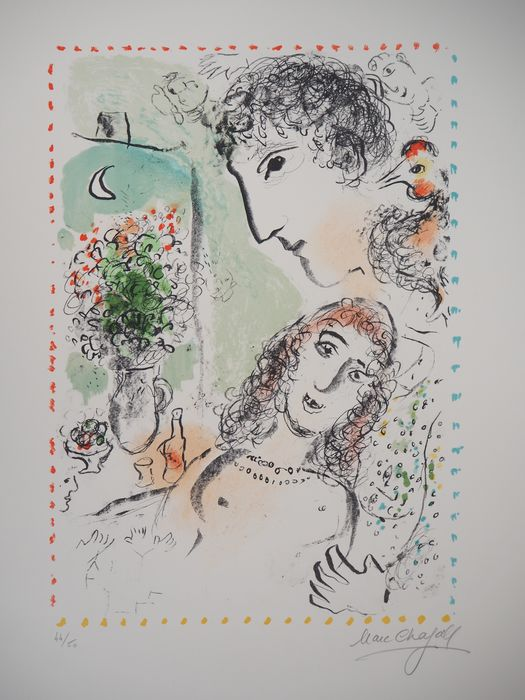 Marc Chagall  - Tendresse