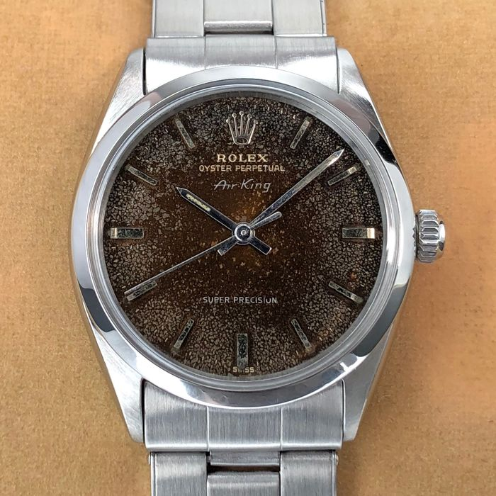 Rolex - Air-King Super Precision - Tropic Dial - 5500 - Unisex - 1960-1969