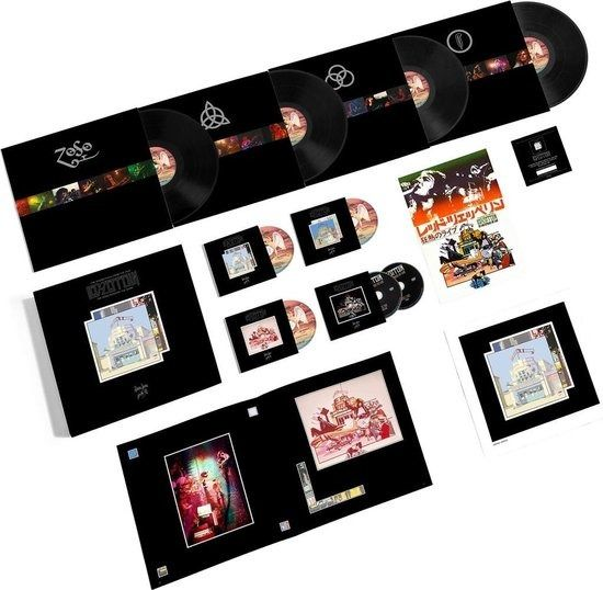 Led Zeppelin - The Soundtrack From The Film The Song Remains The Same - CD Boxset, Deluxe Edition, LP Boxset - 2018/2018