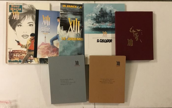 XIII - T9+T10+T12+T17+T19 + 2 portfolio Maghen - 5XTT - Hardcover - First edition - (1992/2017)