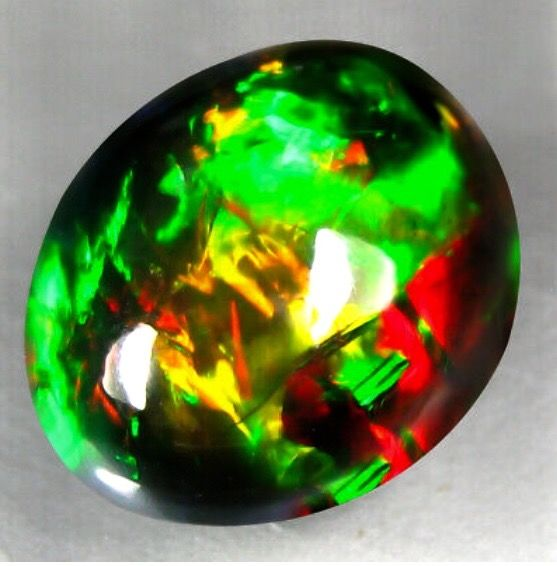Opaal Cabochon - 7×11×15 mm - 1.264 g - (1)