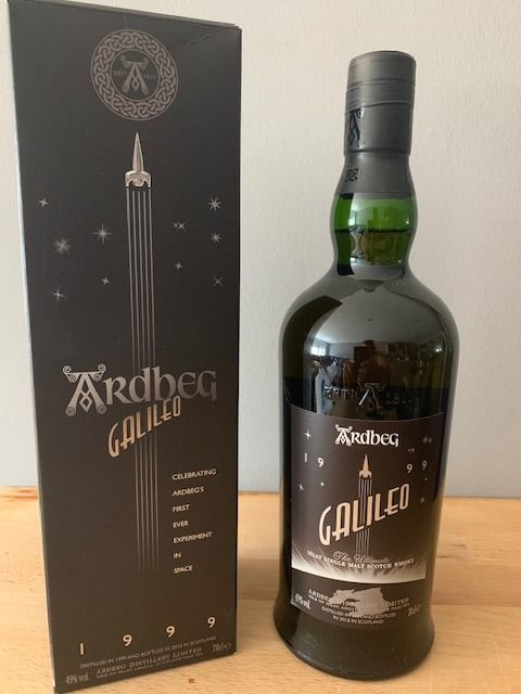 Ardbeg 1999 12 years old Galileo - Original bottling - 70cl - 1 bottles