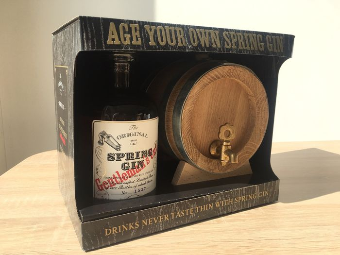 Spring Gin 2015 - Gentleman's Cut Barrel Kit gift pack - 50cl