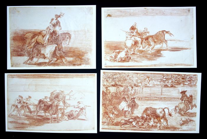 48 prints - Francisco de Goya - Tauromaquias