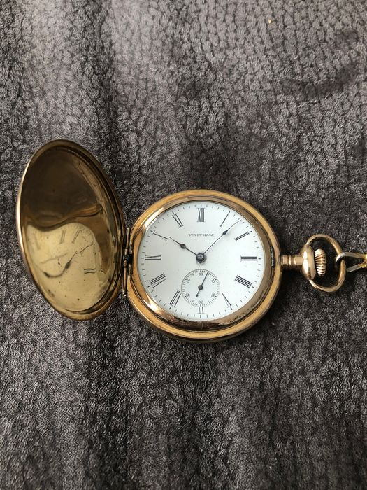 Waltham - Taschenuhr Pocket Watch NO RESERVE PRICE - 15583665 - Unisex - 1901-1949