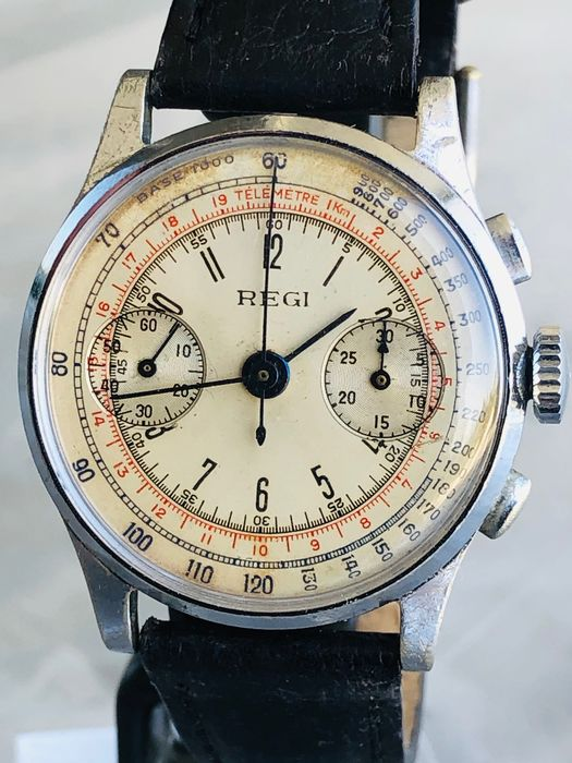 "Regi - Chronograph - ""NO RESERVE PRICE"" - 男士 - 1901-1949"
