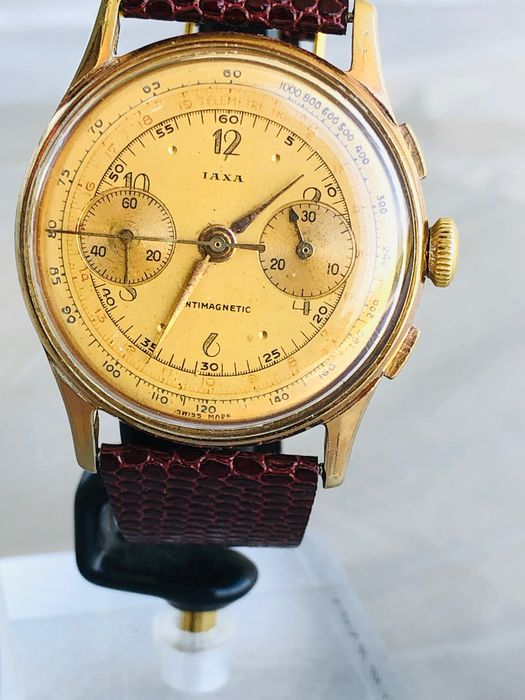 "IAXA - Chronograph - ""NO RESERVE PRICE"" - 男士 - 1950-1959"