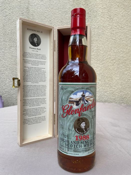 Glenfarclas 1988 Edition No.22 - Original bottling - b. 2018 - 700 ml