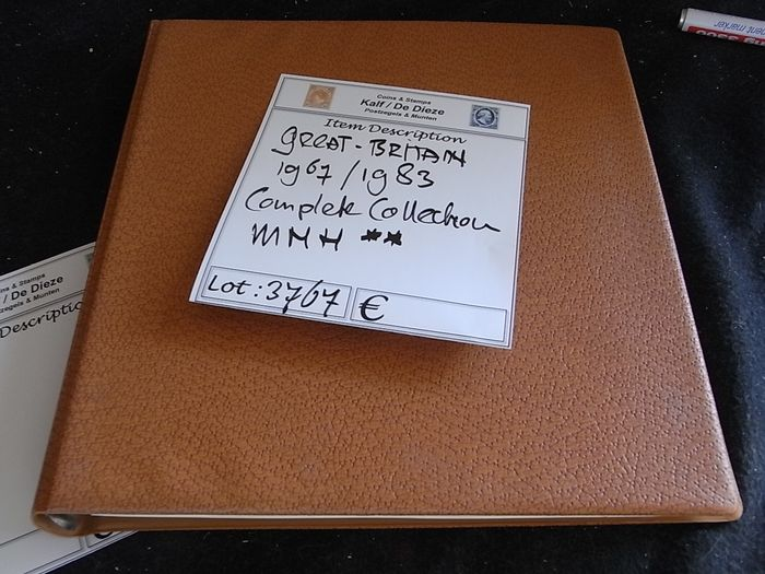 Great Britain 1967/1983 - Collection in Luxe Lindner-T Preprint Album