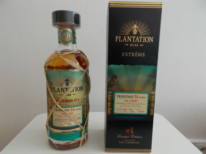 Plantation 2002 14 years old - Extrême No. 1 Trinidad - 70cl