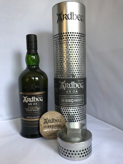 Ardbeg An Oa - The BBQ Smoker Edition - Original bottling - 70cl