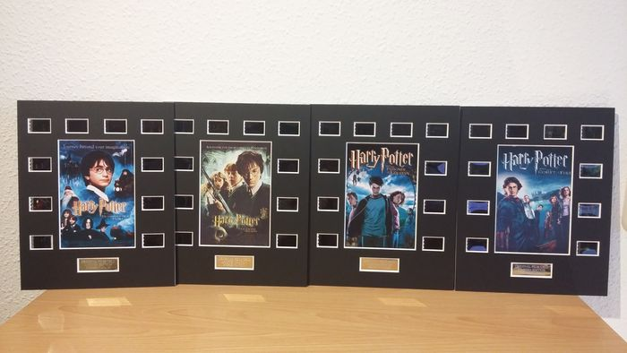 Harry Potter - Lot of 4 Film Cell Display Limited Edition