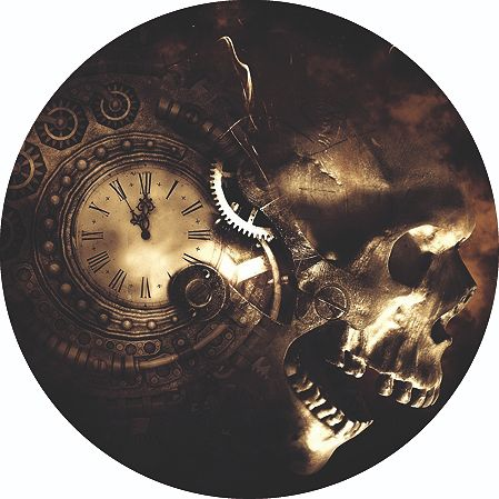 "Kanada - 5 Dollar 2020 – Maple Leaf ""Clock  Skull"" - 1 Oz - Silber"