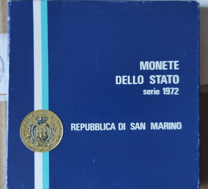 Brazil, San Marino - Coinset 1975/78 'FAO' + Coinsets 1972+1973+1974+1987 (total 5 sets)