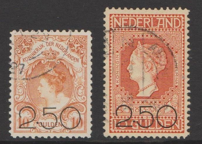 Paesi Bassi 1920 - Clearance issue - NVPH 104/105