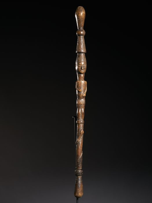 Scepter (1) - Wood - Pende - DR Congo