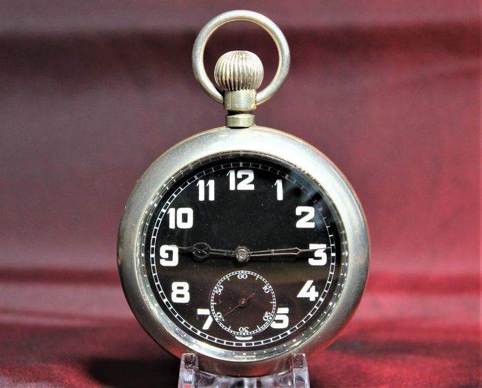 Cyma - Cal. 971 Military - pocket watch NO RESERVE PRICE  - Heren - 1901-1949