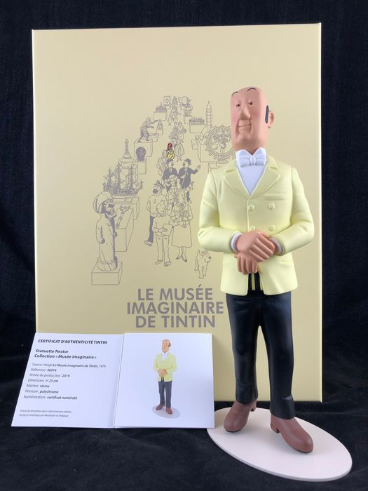 Tintin - Statuette Moulinsart 46014 - Nestor - Collection musée imaginaire - (2019)