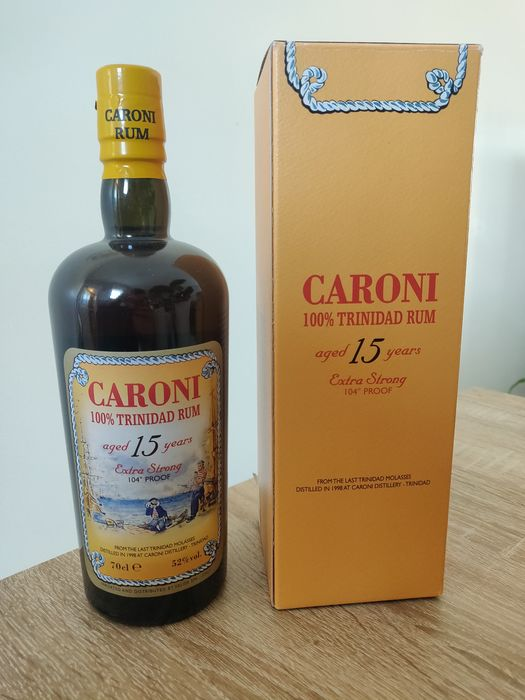 Caroni 15 years old Velier - 70cl