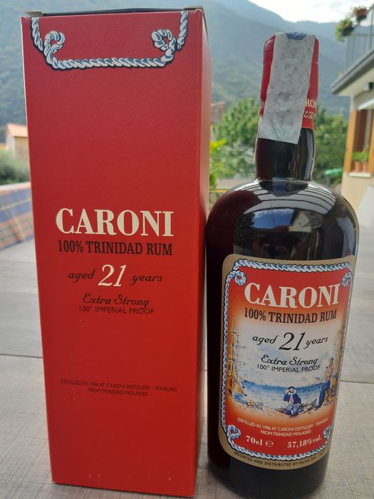 Caroni 21 years old Velier - Extra Strong 100° Imperial Proof - b. 2017 - 70cl