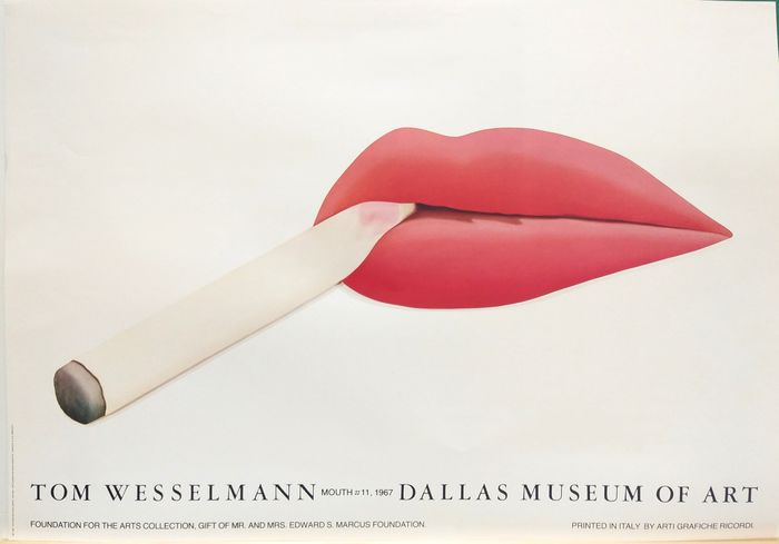 Tom Wesselmann - MOUTH#11 - 1967 - Anni '60