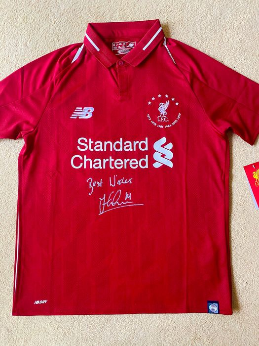 Liverpool - Europese voetbal competitie - Jordan Henderson - 2018 - Jersey(s)