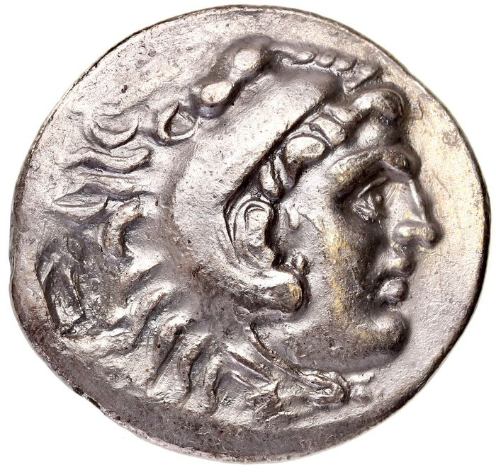 "Greece (ancient) - Kings of Macedon. AR Tetradrachm, Alexander III ""the Great"" (336-323 BC). 3rd century BC - Silver"