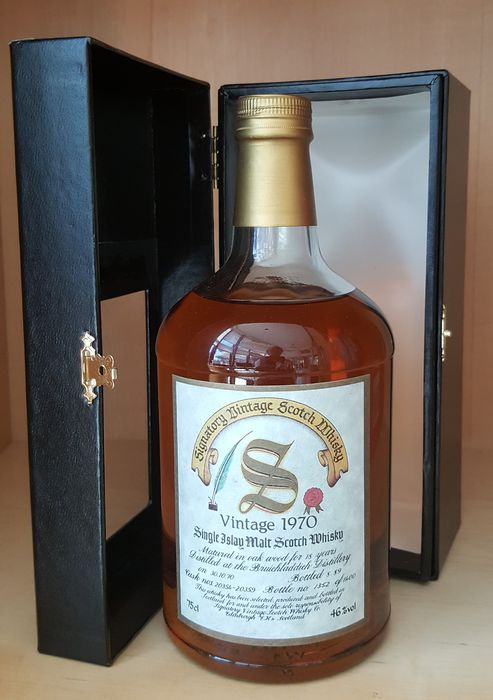 Bruichladdich 1970 18 years old Cask nos. 20354-20359 - One of 1400 - Signatory Vintage - b. 1989 - 75 cl