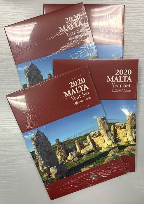 Malta. Year Set 2020 BU (4 sets)