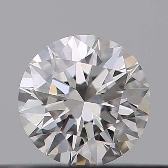 1 pcs Diamond - 0.18 ct - Brilliant - G - IF (flawless), *** Heart and Arrows***no reserve