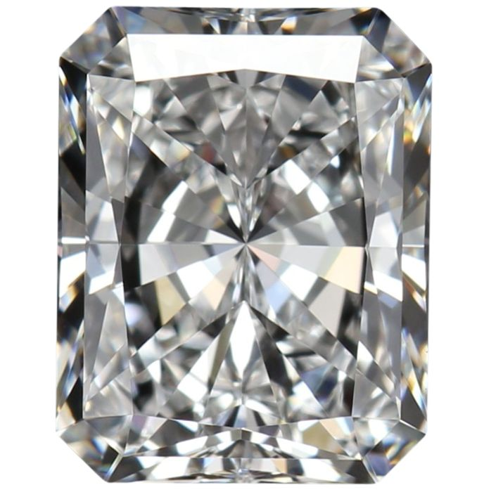 1 pcs Diamante - 0.45 ct - Radiante - D (incoloro), ---NO RESERVE PRICE--- - VVS1