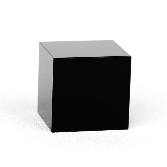 Obsidian Exquisite polished sculpture - 90×90×90 mm - 1670 g
